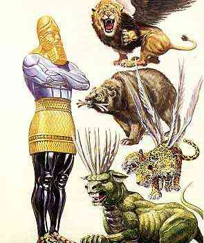 Book of Daniel Prophecies - The Metallic Image and the Beasts